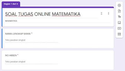 Cara membuat tugas online
