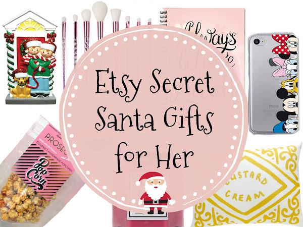 Etsy Secret Santa Gifts for Her