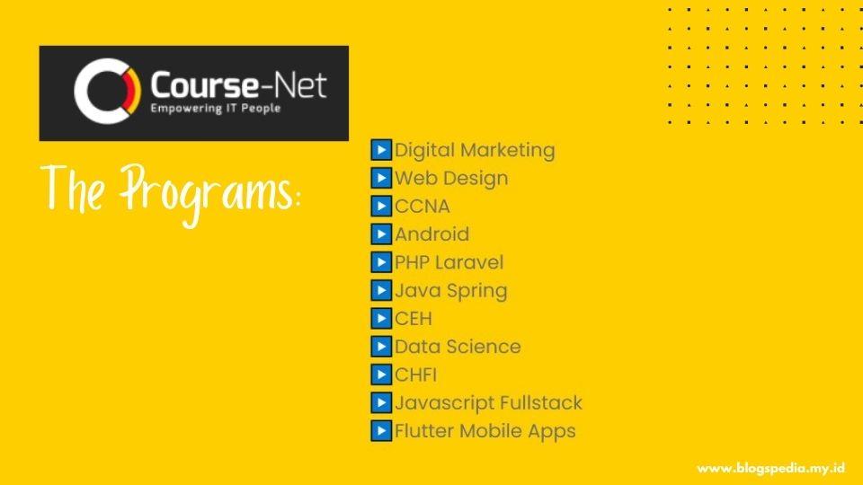 layanan bimbel IT course-net
