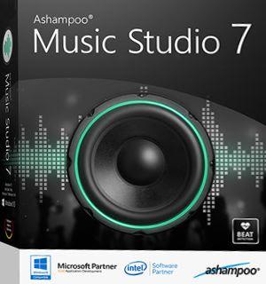 โปรแกรมตัดต่อเสียง Ashampoo Music Studio 7 Crack
