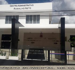 Confira pauta da seção da Câmara  municipal de Guarabira nesta quinta 7 que acontece na cede da OAB GBA