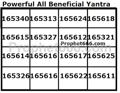 Most Powerful All Beneficial Multi Use Yantra