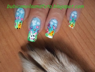 Simple Nails 87 Ortodox Christians Easter Chicken And