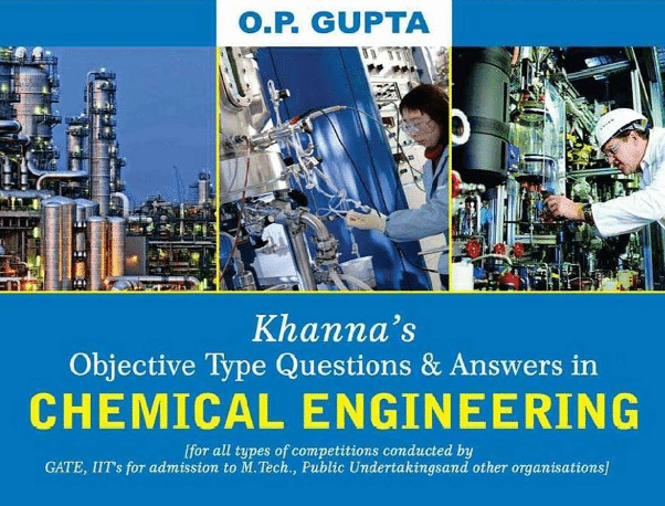 Chemical book type engineering questions objective in