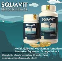 Paling Terlaku Squavit 40 Softgel 1000Mg - Minyak Hati Ikan Hiu Laut Dalam Squalene - Deep Ocean