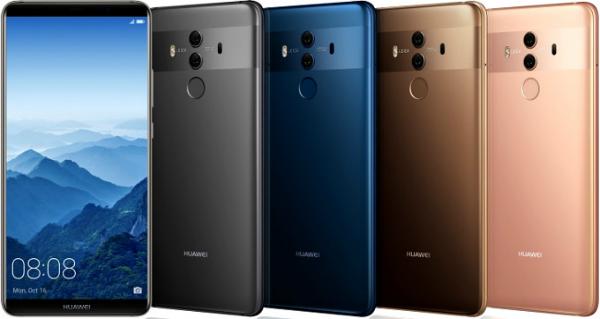 هواوي تكشف رسميا عن هاتفها الذكي الجديد Huawei Mate 10 Pro