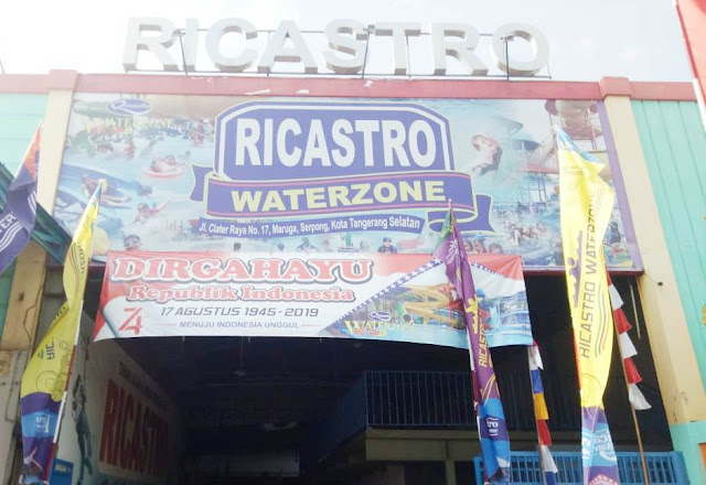 Wahana Air, Water, Ricastro, Zone