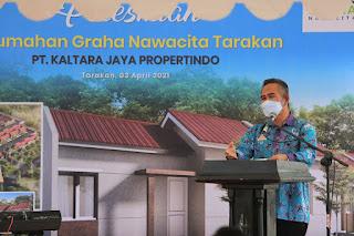 Peresmian Perumahan Nawacita dan Graha Nawacita