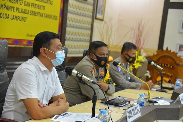 Polda Lampung menggelar Operasi Zebra Krakatau 2020