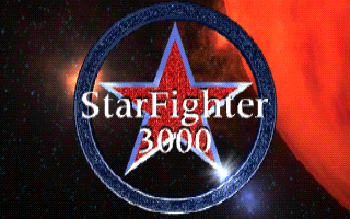 StarFighter 3000 MS-DOS title screen