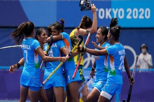 टोक्यो ओलंपिक 2020:  भारतीय महिला हॉकी टीम ने सेमिफाइनल में पहुंचकर रचा इतिहास