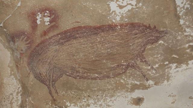 Ζωγραφική σπηλαίου, το παλαιότερο γνωστό εικαστικό έργο τέχνης των ανθρώπων