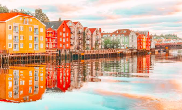 A Peaceful Town In Denmark