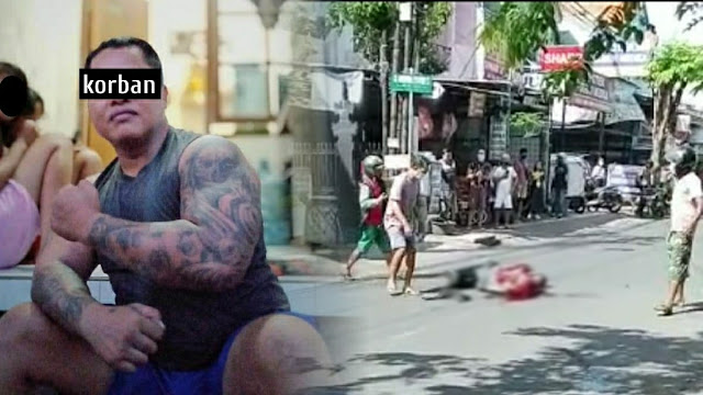 Ngeri! Anggota Ormas di Denpasar Tewas Dibacok di Tengah Jalan, Pelaku Mata Elang