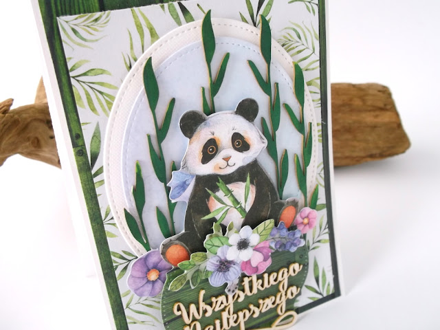 Kartka z Pandą