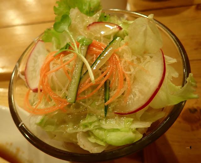 Ketagihan Green Salad with Japanese Dressing Tokyo Skipjack
