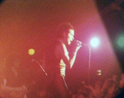 Condor on stage at The Rock Palace in Staten Island, New York Memorial Day weekend 1982
