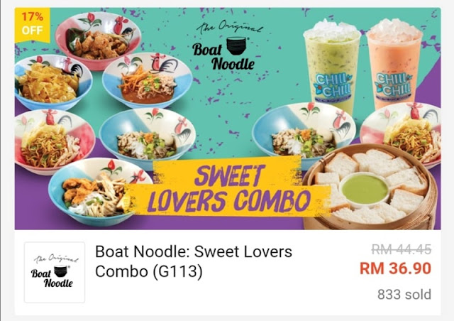 Sweet Lovers Combo RM36.90 Worth RM44.50