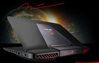 Spesifikasi dan Harga Asus ROG G751Y  dengan intel Core-i7 dan layar 17 inci
