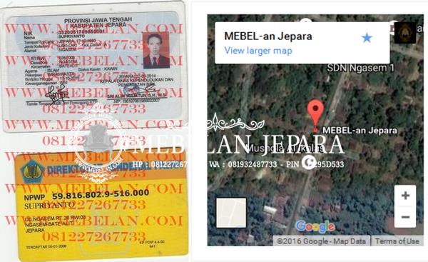 Legalitas Mebelan Jepara