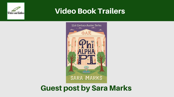 Video Book Trailers, guest post by Sara Marks.