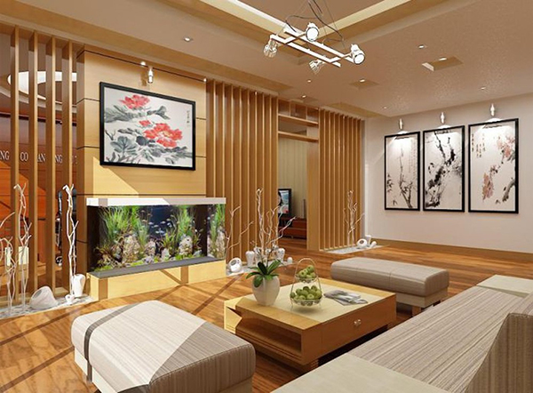 Top 5 bức tranh trang trí phòng khách đẹp và sang trọng