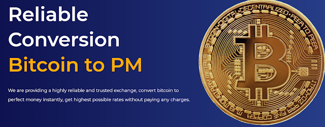 exchange btc to pm