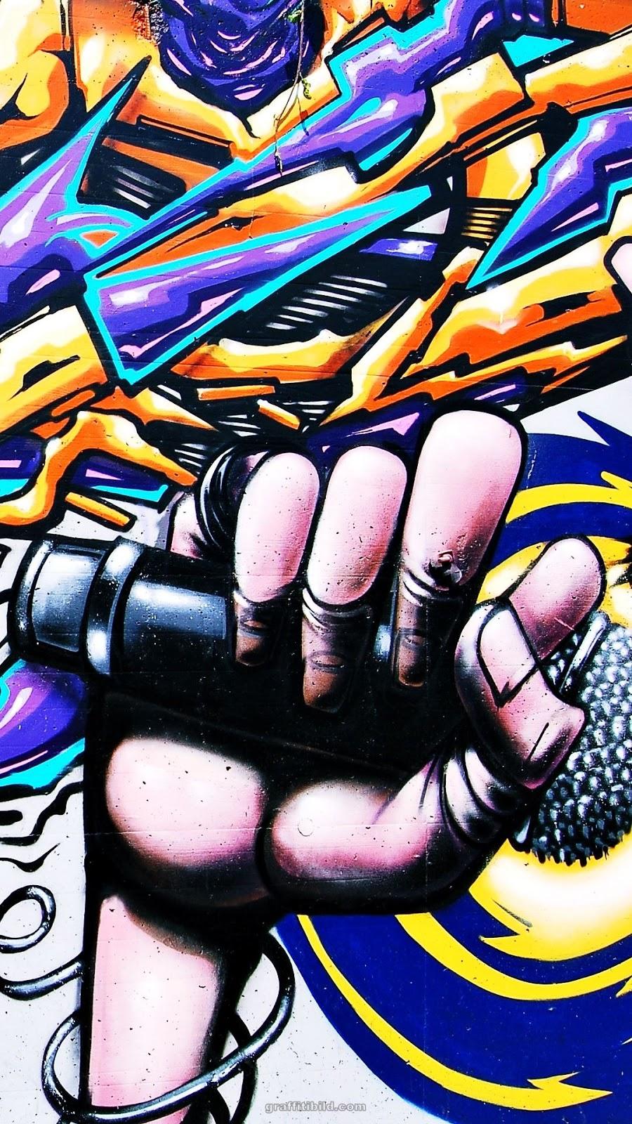 Graffiti, wallpapers, street art, hintergründe, mobile