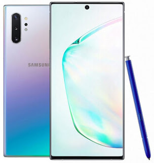handphone samsung galaxy note 10+ 5G