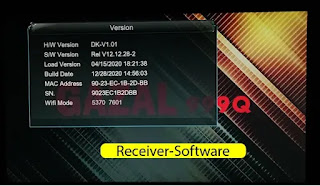 Gazal 999q 1507g 1g 8m Receiver Software 28 December 2020
