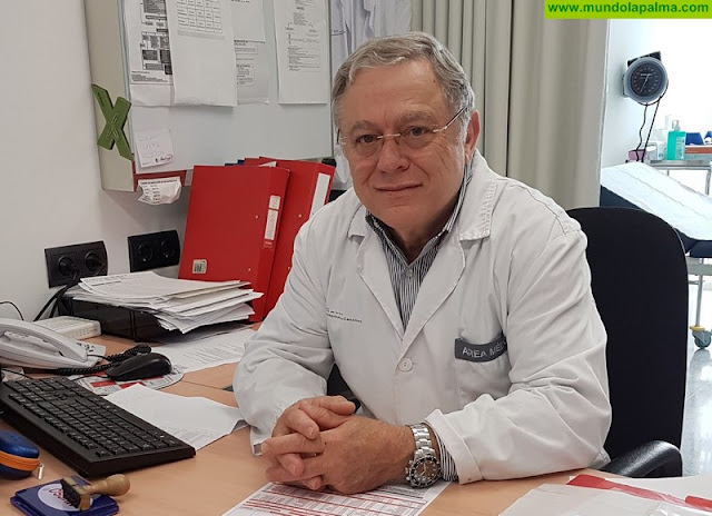 El jefe de servicio de Oncología Médica del HUC, José Norberto Batista, será distinguido como Hijo Predilecto de la Isla de La Palma