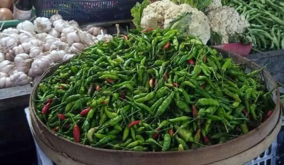 Cabai di Pasar Lumajang