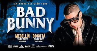 Concierto de BAD BUNNY en Colombia 2018