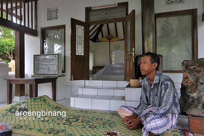 makam panembahan selohening bantul yogyakarta