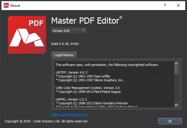 تحميل برنامج Master PDF Editor 5.6.49 محرر PDF احترافي