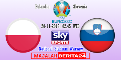 Prediksi Polandia vs Slovenia — 20 November 2019