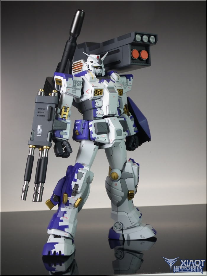 GUNDAM GUY: MG 1/100 FA 78-1B Gundam Full Armor Type-B - Customized Build