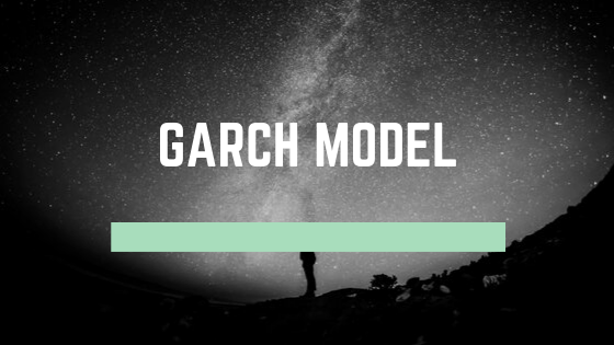 How to use garch model
