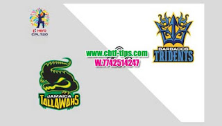 Who will win Today CPL T20 2019 12th Match Barbados vs Jamaica