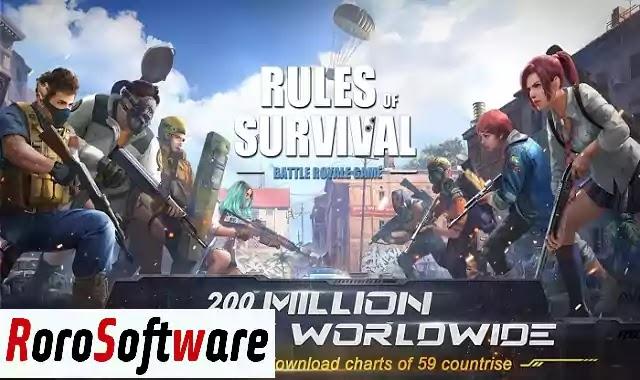 تنزيل لعبة Rules of Survival افضل لعبة اطلاق النار للاندرويد