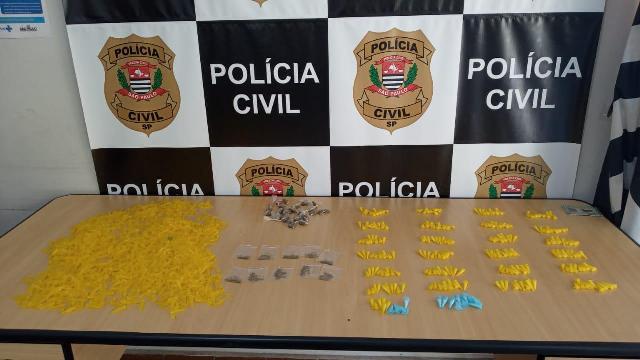 Polícia Civil identifica e prende homem responsável pelo armazenamento e distribuição de drogas em Registro-SP