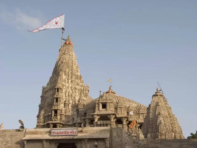 Dwarkadhish KrishnaTemple Gujarat,