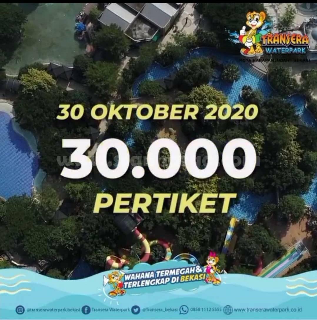 Promo Transera Waterpark Liburan Akhir Bulan 28 - 31 Oktober 2020 2