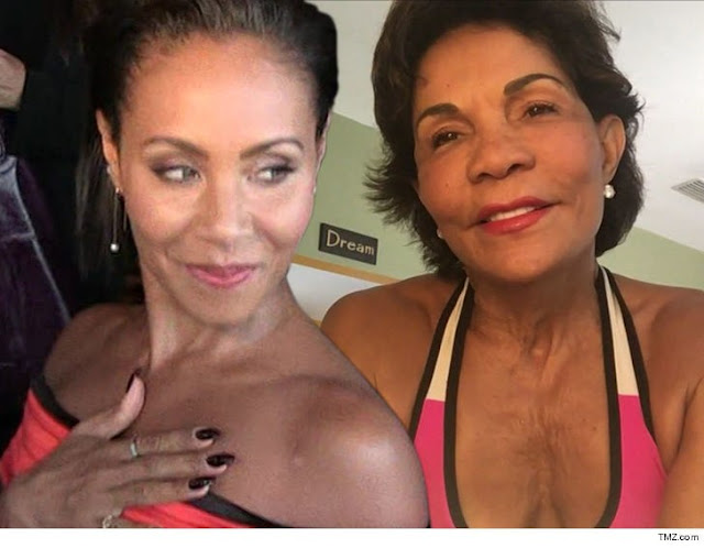JADA PINKETT SMITH 72-Yr-Old Bodybuilder Pal CHALLENGES WILL TO PUSH-UP CONTEST!!!