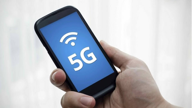 Teste de Velocidade Smartphone 5G
