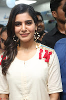 Samantha Ruth Prabhu Smiling Beauty in White Dress Launches VCare Clinic 15 June 2017 044.JPG