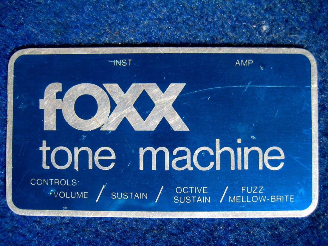 Tone Machines Blog: fOXX Tone Machine (1972)