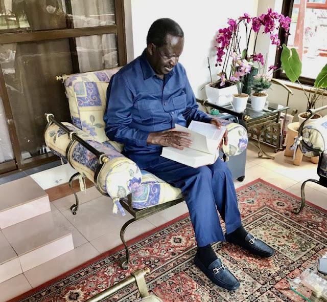 ODM leader Raila Odinga photo