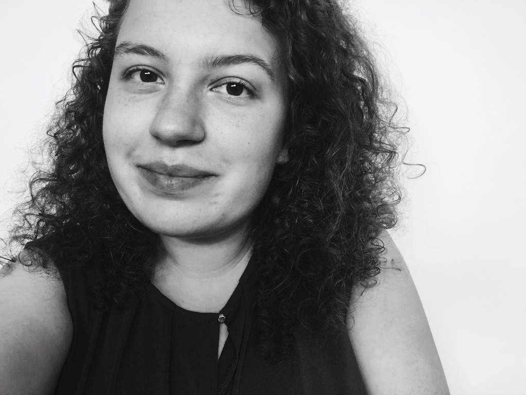 Zwart-wit selfie