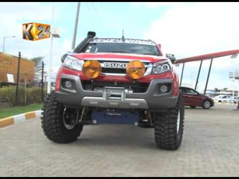 Kenyan auto blog: D-Max 'MOMO' introduced in Kenya